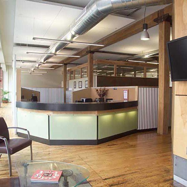 Wagman Construction, Inc. Reception Area