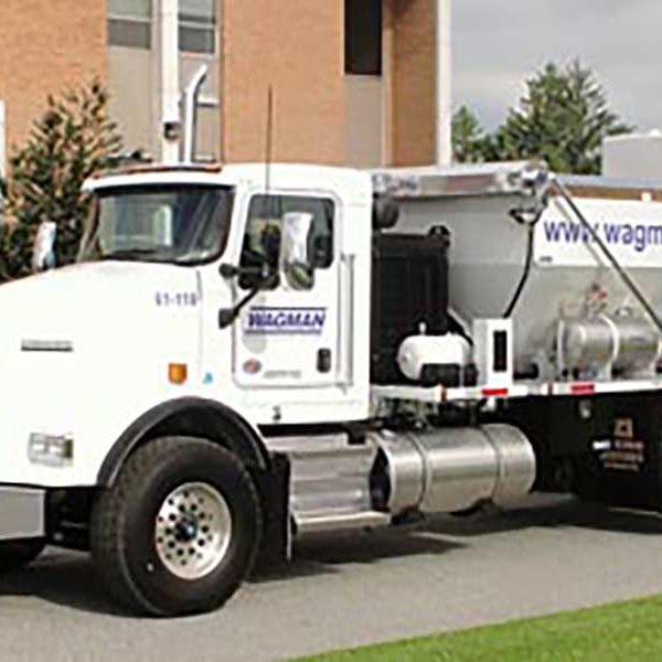 Low Emission Mixer Truck