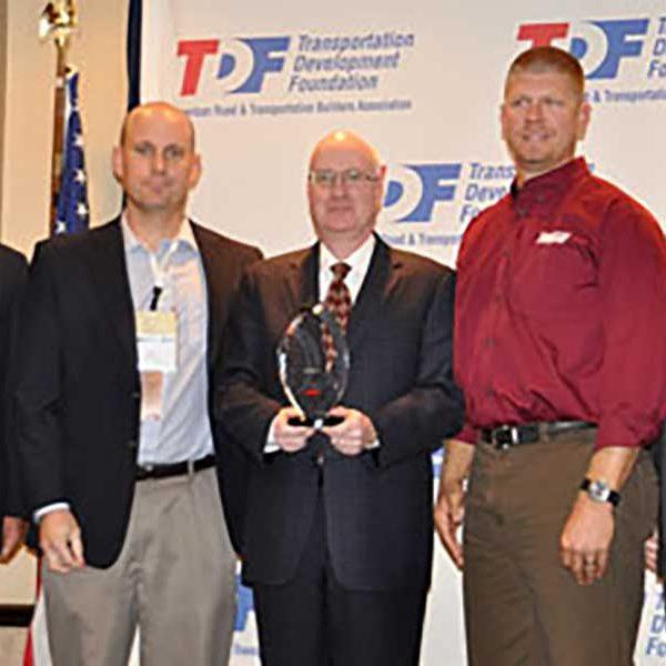 Wagman employees receive ARTBA CNA Safety Award