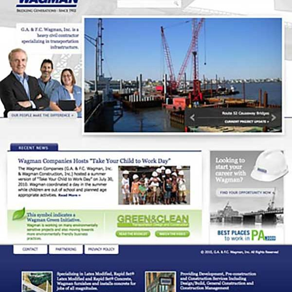 Wagman's New Website Launched in 2010