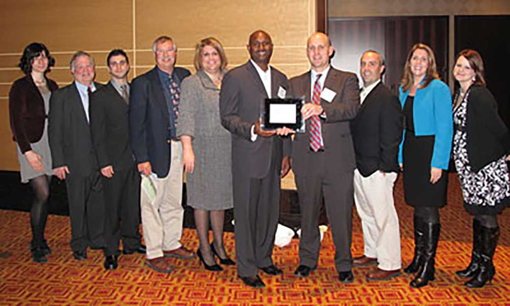 Wagman employees at the Best Places to Work event in 2010