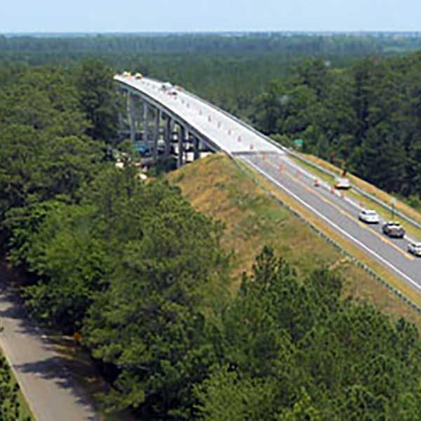 Walter B. Jones Bridge in North Carolina