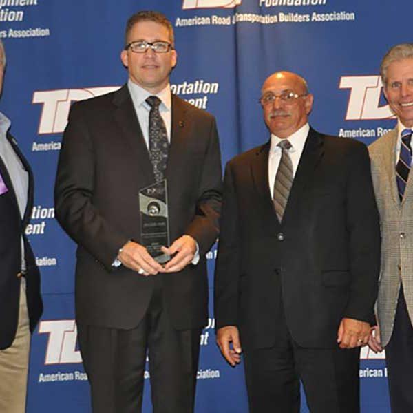 2012 ARTBA Globe Award Recipients