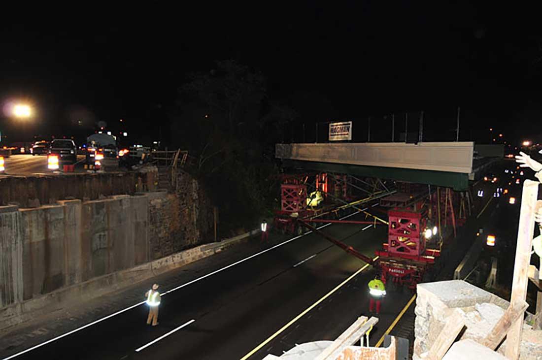 Maryland Bridge on Wheels Move Project