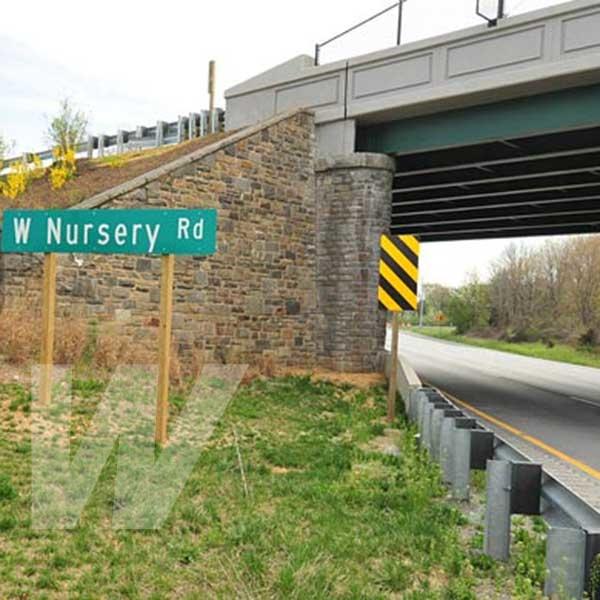 West Nursery Road Bridge Movers