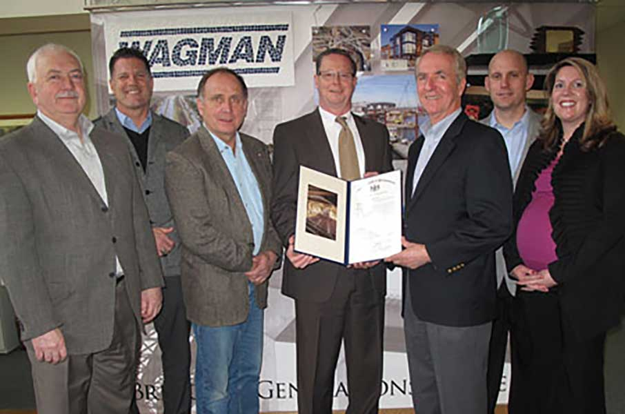 Wagman Family Corporate Leadership Awarded Citation from York County Delegation