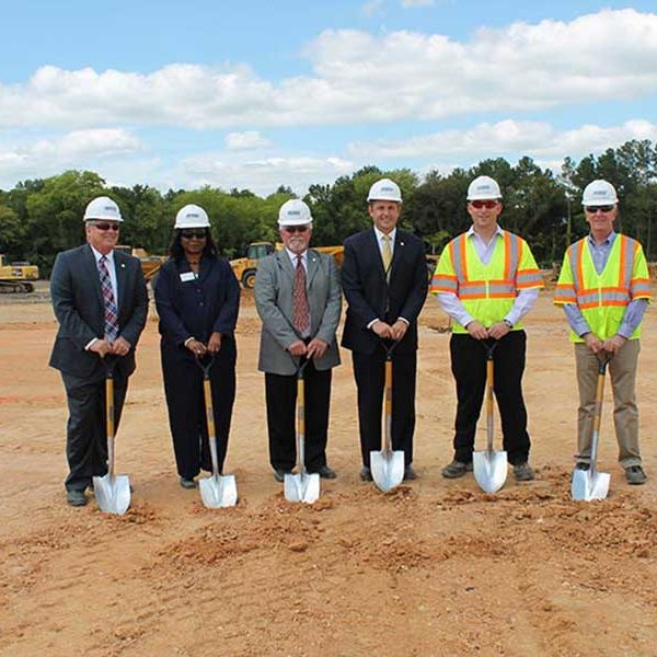 Groundbreaking: Wagman & Dinwiddie County