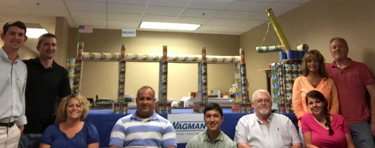 "Wagman's ""Can""struction Contest Benefits Local Food Banks"