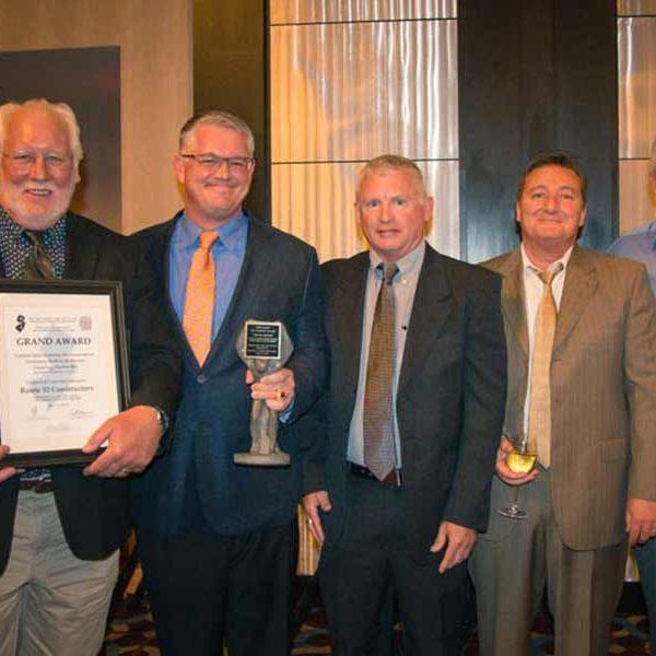Route 52 Contractors attend the NJ ACI Awards Banquet