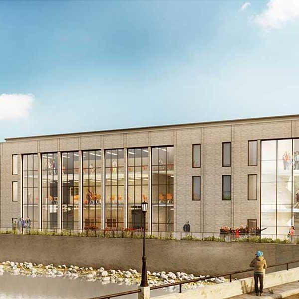York Academy Upper School Rendering
