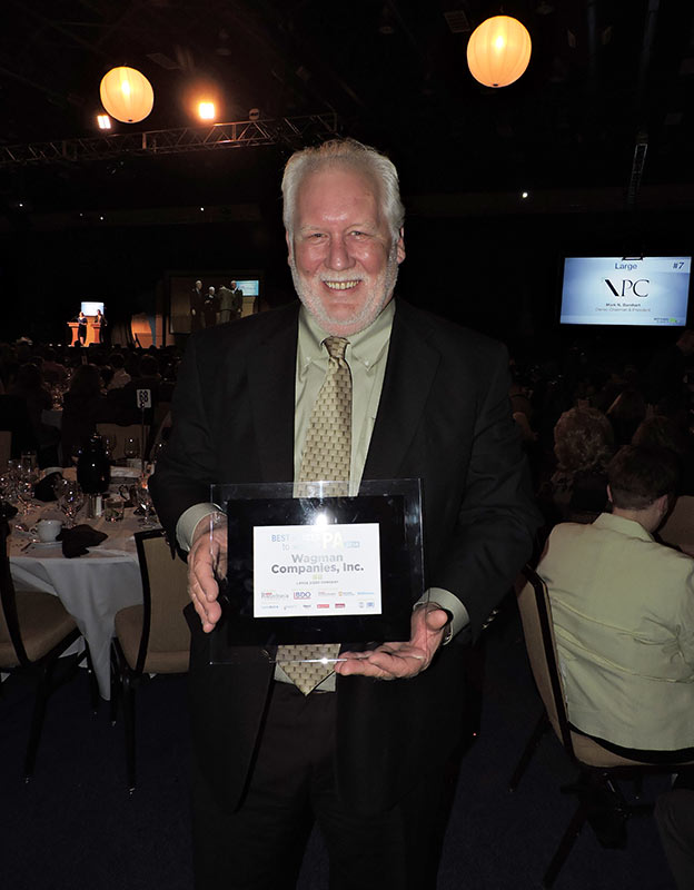 Al Houser Accepts Best Places to Work in PA Award