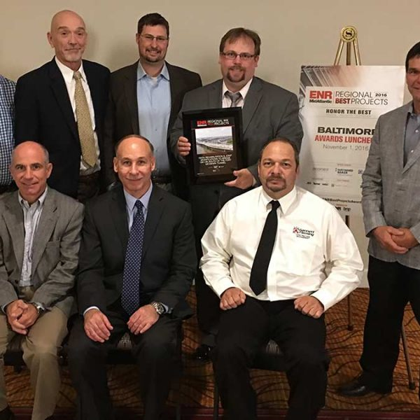 The Wagman Team Receives 2016 ENR Regional Best Projects Award