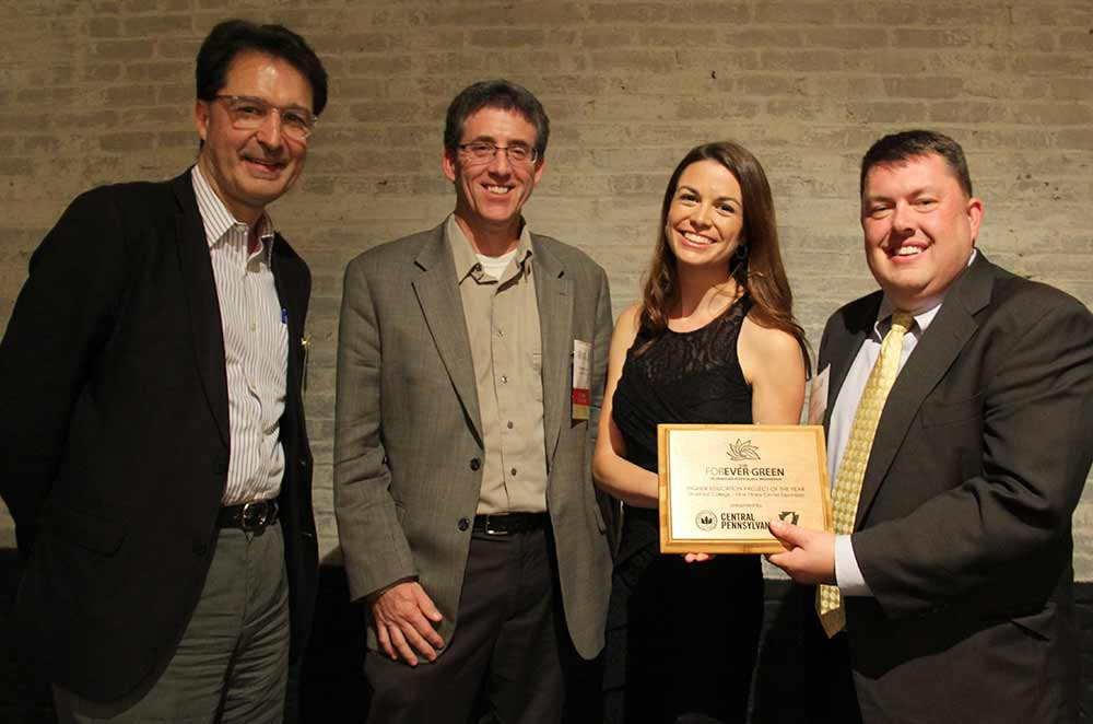 Kline Fitness Center Wins USGBC Central PA Forever Green Award