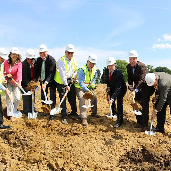 Wagman and HHHunt Groundbreaking at Spring Arbor of Crofton