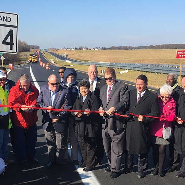 MD 404 Ribbon Cutting with Governor Larry Hogan