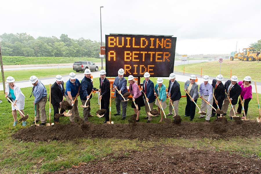Groundbreaking for Rappahannock River Crossing Project