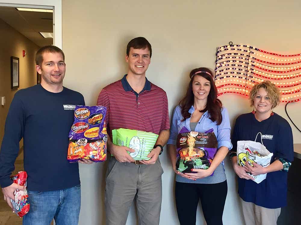 Wagman Dinwiddie Office makes donations to Operation Gratitude