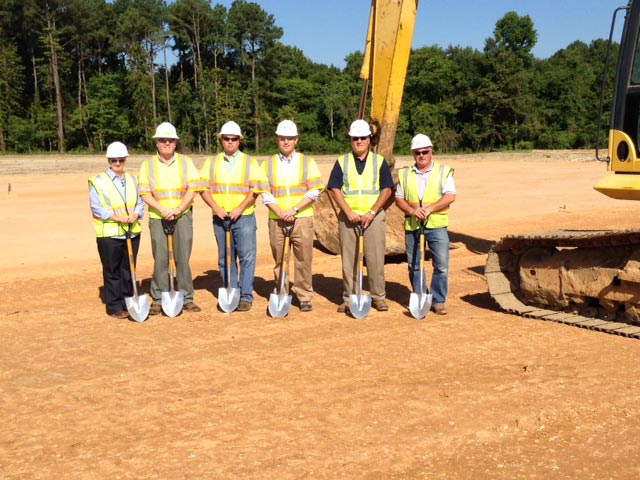Groundbreaking: Wagman Construction, Inc. is the general contractor for G.A. & F.C. Wagman, Inc.'s new office
