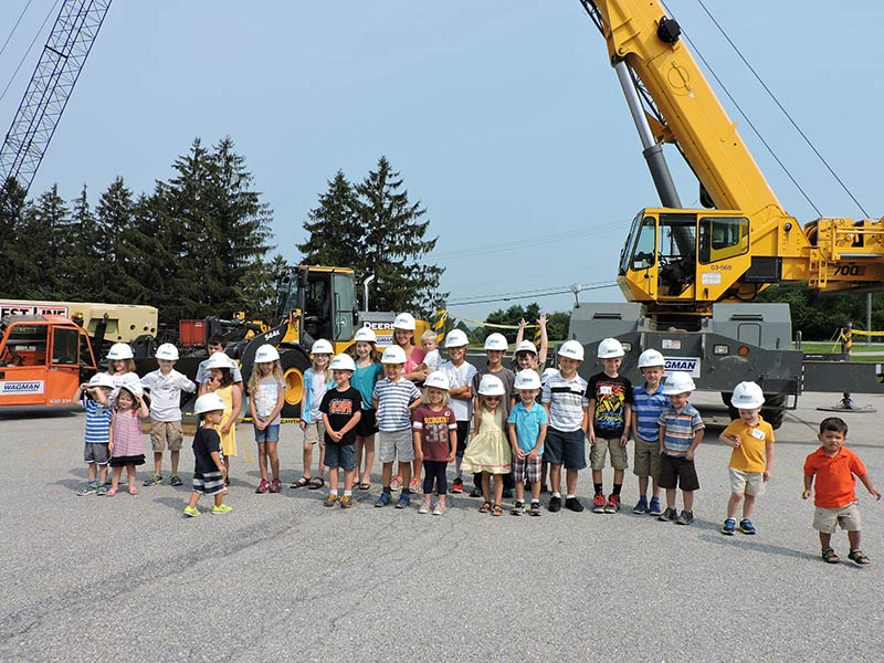 """Wagman Hosts a Summer Version of """"Take Your Child to Work Day"""""""