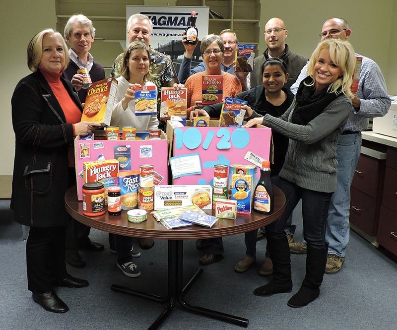 In the Spirit of Thanksgiving, Wagman Supports Local Food Banks