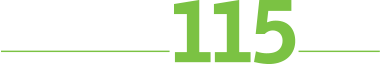 115th Anniversary logo