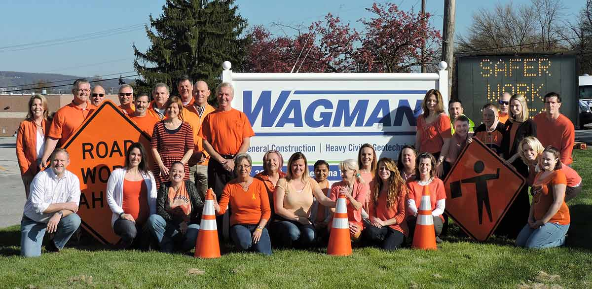Wagman supports the 2016 National Work Zone Safety Awareness Week
