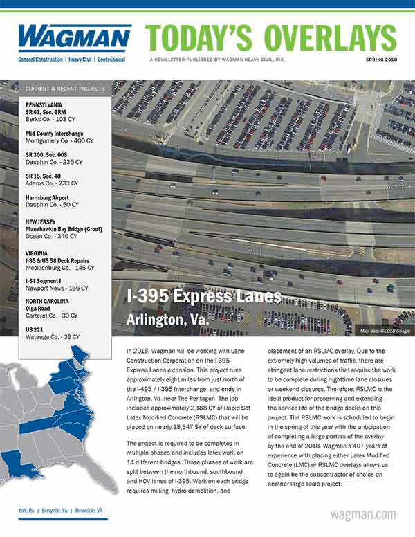 The Wagman Concrete Group Newsletter
