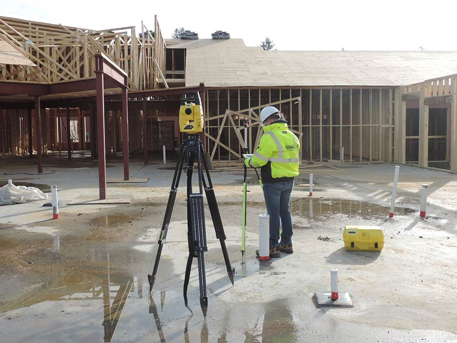 Wagman BIM on site construction station