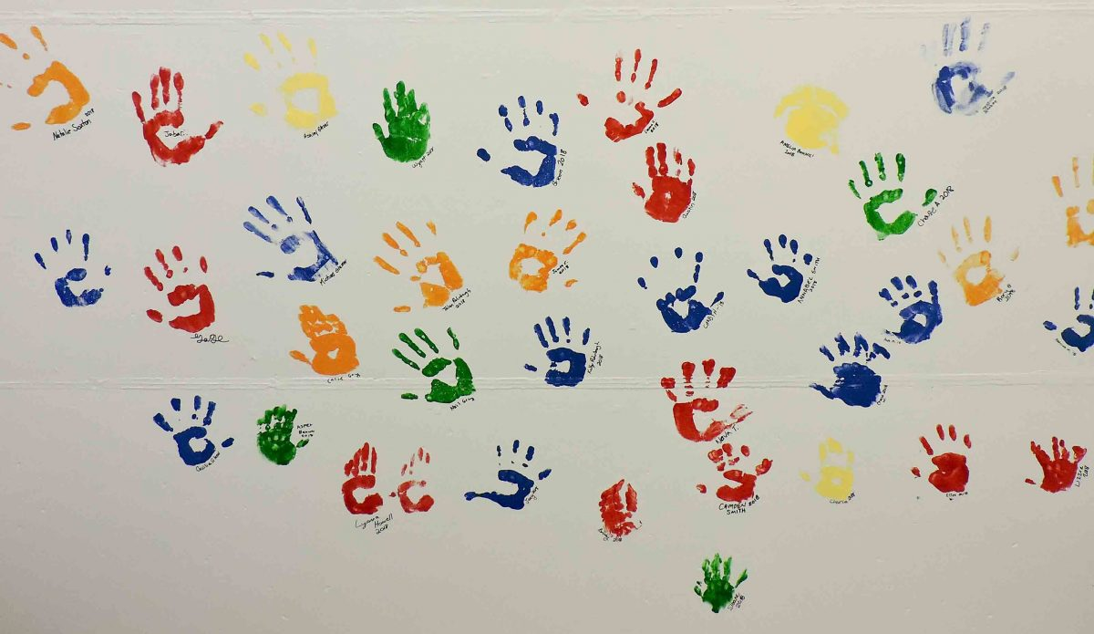 Family Business hand prints