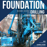 Foundation Drilling November-December Cover