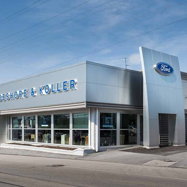 Beshore & Koller Ford – Dealership Renovations