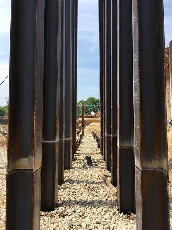 Wagman Geotechnical Services Sheet Piling Bulkhead