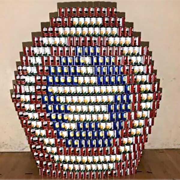 2019 Can-Struction Winner