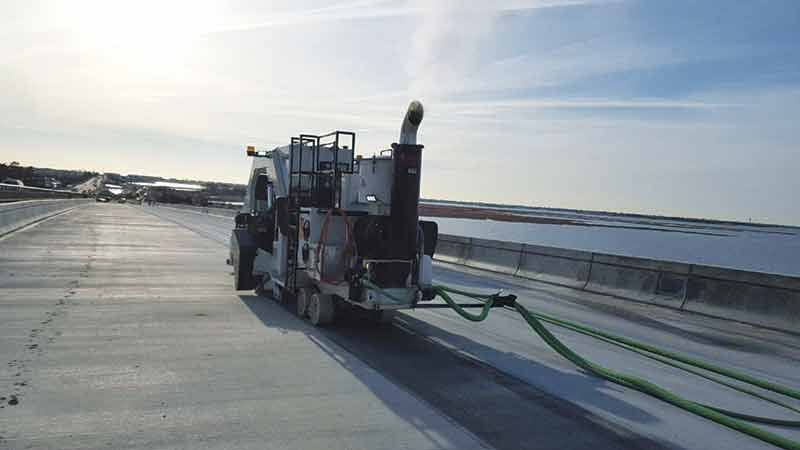 Bridge Deck Diamond Grinding