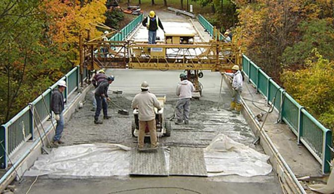 Wagman Bonded Concrete Overlays