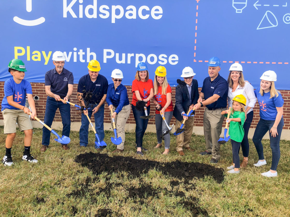 Keystone Kidspace Groundbreaking with Wagman Team