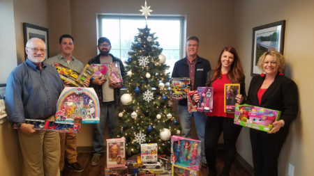 Holiday Toy Drive - Dinwiddie Office