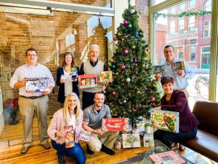 Holiday Toy Drive - Downtown York office