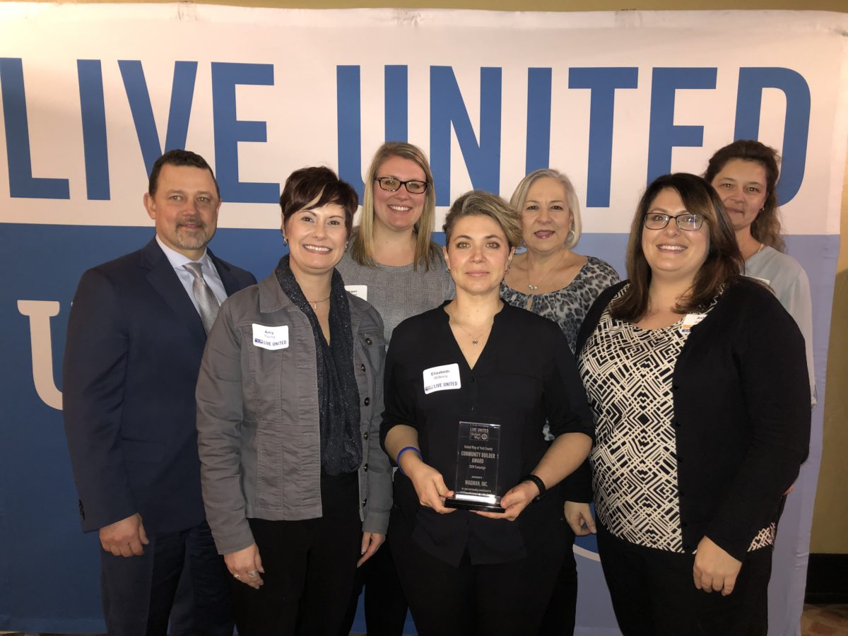 Wagman Recognized with 2019 United Way Community Builder Award