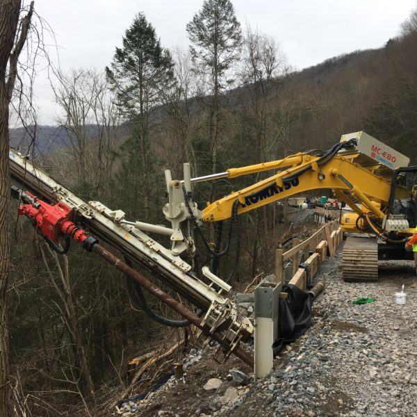 Route 87 Slide Repair