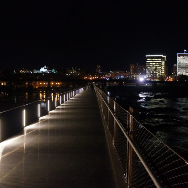 Richmond Riverfront Pedestrian Bridge