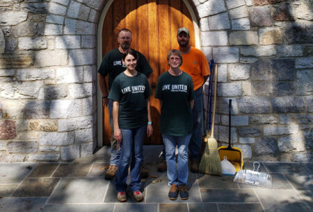 United Way Day of Caring - Berryville